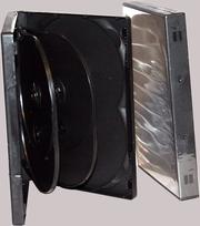 Футляр BOX на 8 дисков (черный,  глянцевый)